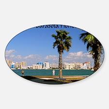Palm Trees SarasotaFlorida35x23 Decal