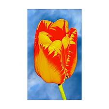 Red  Yellow Tulip IPhone Hard  Decal