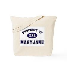 Property of maryjane Tote Bag