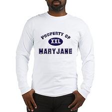 Property of maryjane Long Sleeve T-Shirt