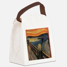The_Scream Canvas Lunch Bag