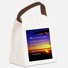 DaVincisquare Canvas Lunch Bag