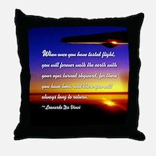 DaVincisquare Throw Pillow