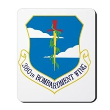 380th Bomb Wing - Blue Mousepad