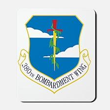 380th Bomb Wing - Blue Mousepad