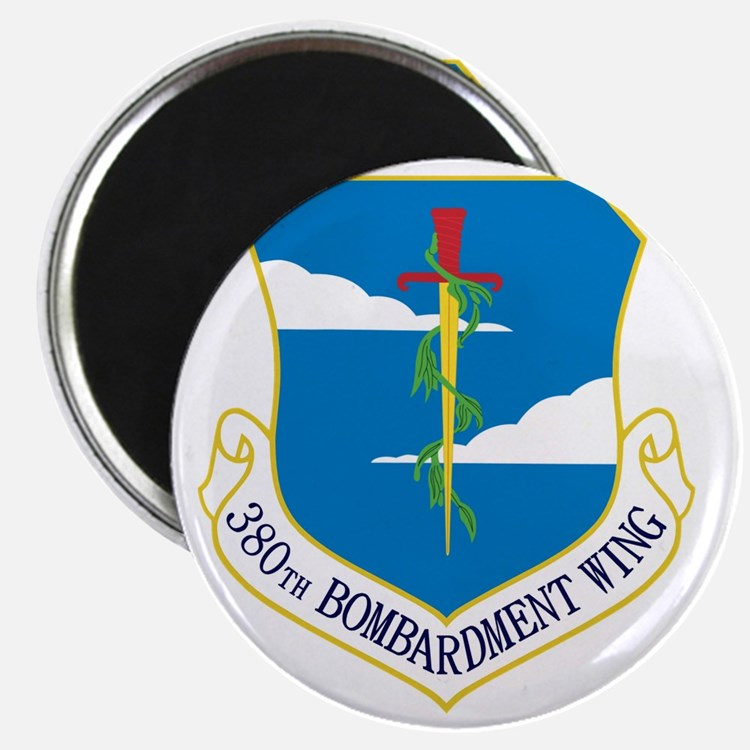 380th Bomb Wing - Blue Magnet