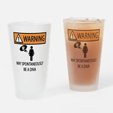 DIVA Drinking Glass