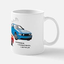 Mustang Burnout Trimmed Mug