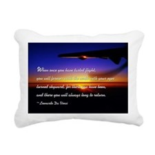 flyingDaVinci Rectangular Canvas Pillow