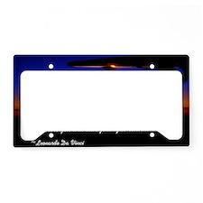flyingDaVinci License Plate Holder
