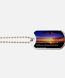 flyingDaVinci Dog Tags