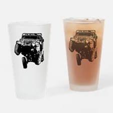 Jeep Wrangler Poser (TJ) Drinking Glass