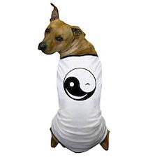 Winky Yin Yang Dog T-Shirt
