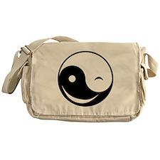 Winky Yin Yang Messenger Bag