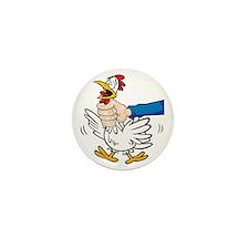 choke-chicken Mini Button