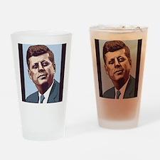 jfk-1-LG Drinking Glass