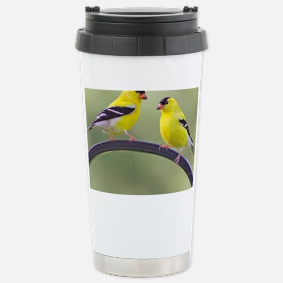 goldfinchSQ Stainless Steel Travel Mug