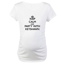 Keep Calm and Party with Keyshawn Shirt