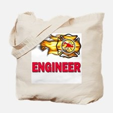 Fire Department Engineer Tote Bag