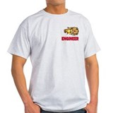Fire engineer Mens Light T-shirts