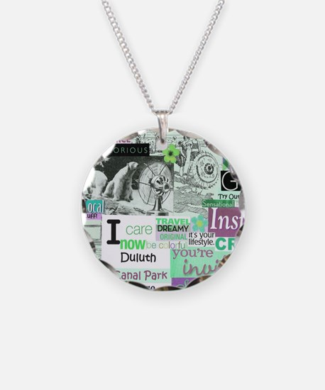Lakewalk11x9calendarpurp Necklace