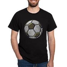 soccer art bevel 1 T-Shirt
