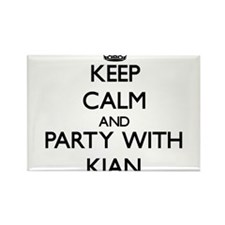 Keep Calm and Party with Kian Magnets