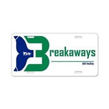 dabreakaways Aluminum License Plate