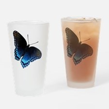 Butterfly iPhone 4 Slider Case Drinking Glass
