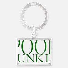 Pool Junkie.gif Landscape Keychain