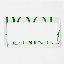 Pool Junkie.gif License Plate Holder