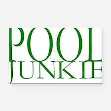 Pool Junkie.gif Rectangle Car Magnet
