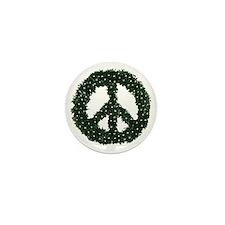 peace-wreath Mini Button