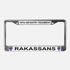 187TH License Plate Frame