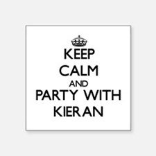 Keep Calm and Party with Kieran Sticker