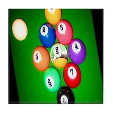 9-Ball Tile Coaster