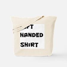 left-handed-shirt-back Tote Bag