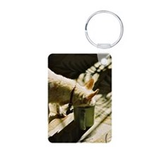 coffee note card Keychains