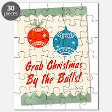 christmasballsshirtblack Puzzle