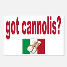 got cannolis Postcards (Package of 8)