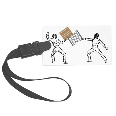 fencing Large Luggage Tag