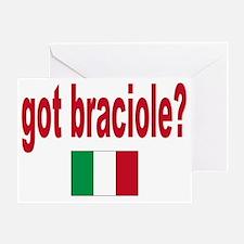 got braciole Greeting Card