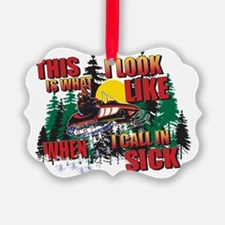CALL-IN-SICK Ornament