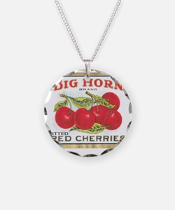 BIG HORN CHERRIES Necklace