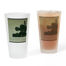 CombatMedicPrayer Drinking Glass