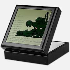 CombatMedicPrayer Keepsake Box