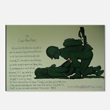 CombatMedicPrayer Postcards (Package of 8)