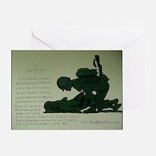 CombatMedicPrayer Greeting Card