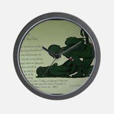 CombatMedicPrayer Wall Clock