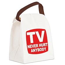 neverhurtanybody Canvas Lunch Bag